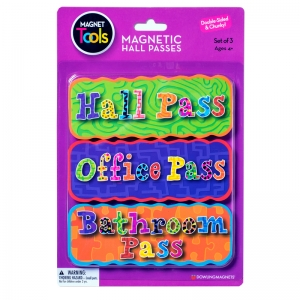 MAGNETIC HALL PASS SET 3 PCS