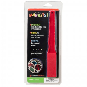 MAGNETIC WAND & 20 COUNTING CHIPS