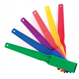 24 PRIMARY COLORED MAGNET WANDS