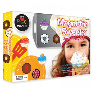 MAGNETIC SWEETS SORT AND PLAY SET