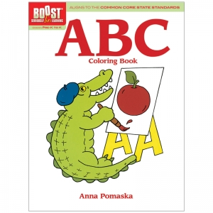 BOOST ABC COLORING BOOK GR PK-K