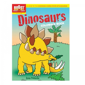 BOOST DINOSAURS COLORING BOOK  GR 1-2