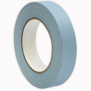 "Premium Grade Masking Tape, 1"" x 55 yds, Light Blue"