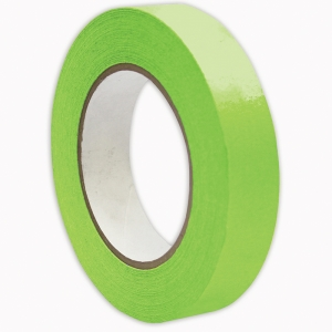 "Premium Grade Masking Tape, 1"" x 55 yds, Light Green"