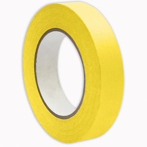 PREMIUM MASKING TAPE YELLOW 1X55YD