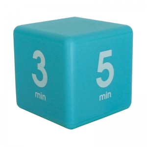 BLUE 7 MINUTE PRESET TIMER CUBE