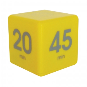YELLOW 45 MINUTE PRESET TIMER CUBE