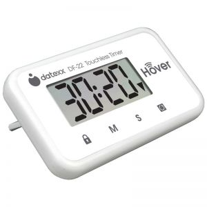 Miracle Hover Timer - Touchless Countdown Timer, White