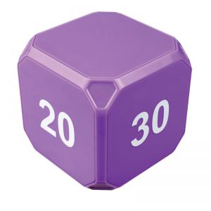 Timecube Plus Preset Timer, Purple: 5-10-20-30 Minute