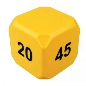 TimeCube Plus 5-10-20-45 Minute Preset Timer- Yellow