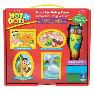 Hot Dots� Jr. Interactive Storybook Set, Favorite Fairy Tales with Ollie the Owl