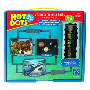 Hot Dots� Jr. Ultimate Science Facts Interactive Book Set With Pen