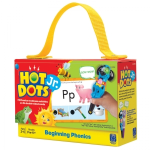 Beginning Phonics Hot Dots Jr.Card Set, 72/pkg