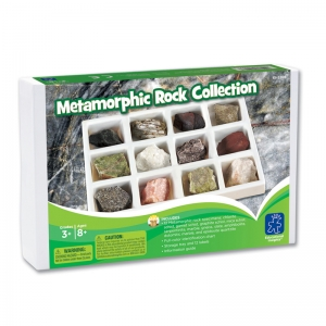 GeoSafari Metamorphic Rock Collection, Set of 12