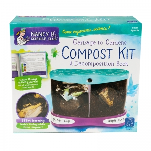 NANCY B SCIENCE CLUB GARBAGE TO  GARDENS COMPOST KIT