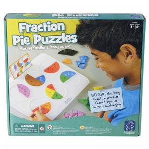 FRACTION PIE PUZZLES