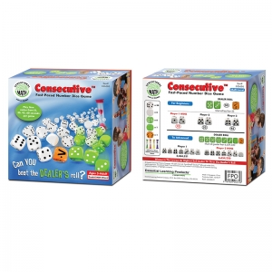 Consecutive FastPaced Number Dice Game