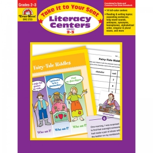 TAKE IT TO YOUR SEAT LITERACY  CENTERS