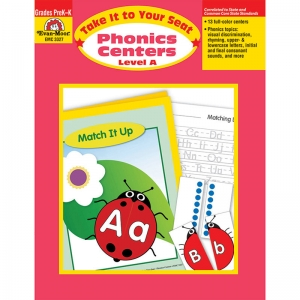 TAKE IT TO YOUR SEAT PHONICS  CENTERS LEVEL A
