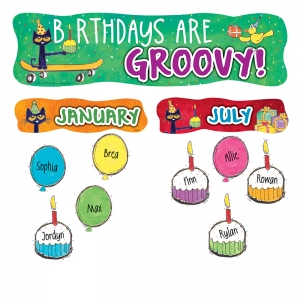 PETE THE CAT HAPPY BIRTHDAY MINI BB  SET