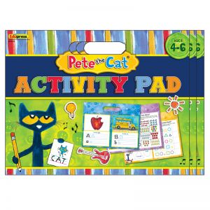Pete the Cat Activity Pad, Pack of 3