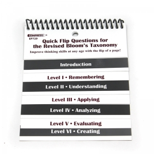 QUICK FLIP QUESTIONS FOR THE  REVISED BLOOMS TAXONOMY