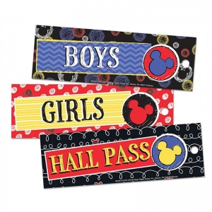 MICKEY COLOR POP HALL PASSES 3/ST