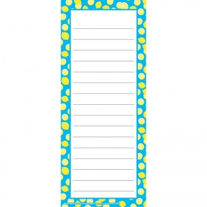 "Always Try Your Zest Note Pad, 3 1/2"" x 8 1/2"", 50 Sheets"