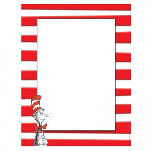 Dr.Seuss The Cat in the Hat Computer Paper