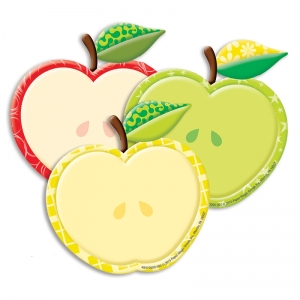 Color My World Assorted Apple Paper Cut-Outs