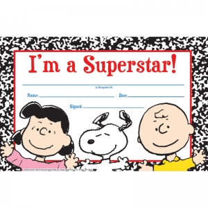 PEANUTS SUPER STAR RECOGNITION  AWARDS