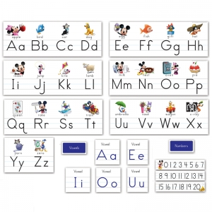 MICKEY MOUSE CLUBHOUSE ALPHABET  LINE