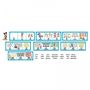 MICKEY MOUSE CLUBHOUSE NUMBER SET