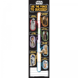 STAR WARS GOAL SETTING BANNERS  VERTICAL
