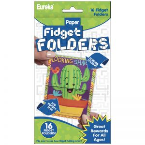 Fidget Folders, A Sharp Bunch, 16 Per Pack, 6 Packs