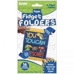 Fidget Folders, You Can Toucan, 16 Per Pack, 6 Packs