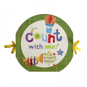 Count With Me Accordian Board Book