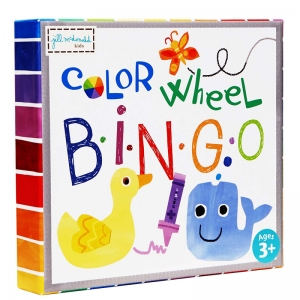 COLOR WHEEL PUZZLE BINGO GAME
