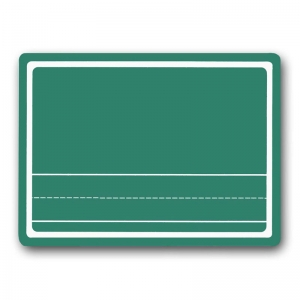 CHALK BOARD 9 X 12 GREEN CHALK  STORY BOARD