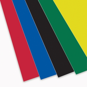 "Foam Board, Assorted Colors, 20"" x 30"", Pack of 10"