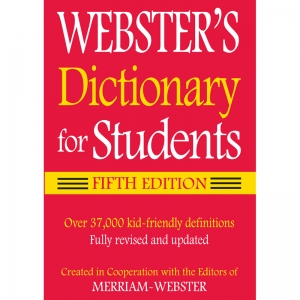 WEBSTER DICTIONARY FOR STUDENTS  FIFTH EDITION