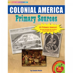 PRIMARY SOURCES COLONIAL AMERICA