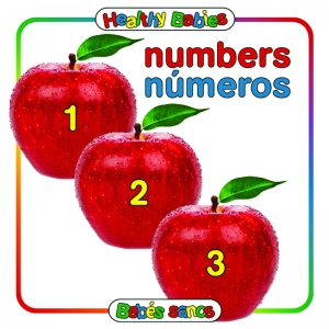 NUMBERS BOARD BOOK BILINGUAL  SPANISH ENGLISH