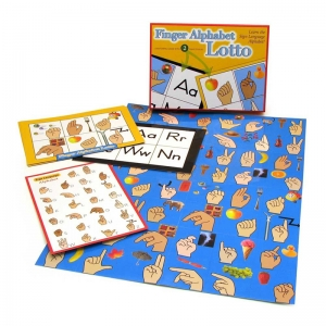 FINGER ALPHABET LOTTO