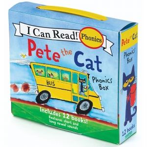 Pete the Cat Phonics Box, Set of 12 Books