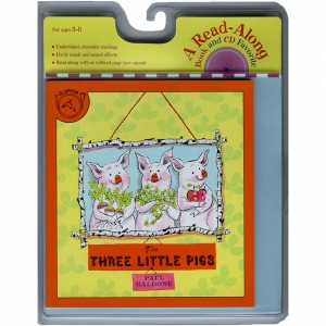 CARRY ALONG BOOK & CD THREE LITTLE  PIGS