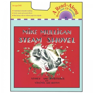CARRY ALONG BOOK & CD MIKE MULLIGAN  & HIS STEAM S