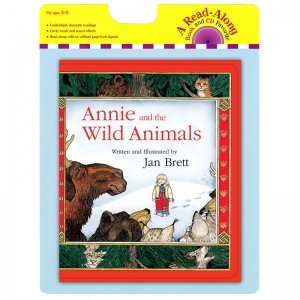 ANNIE AND THE WILD ANIMALS CARRY  READ ALONG BOOK & CD