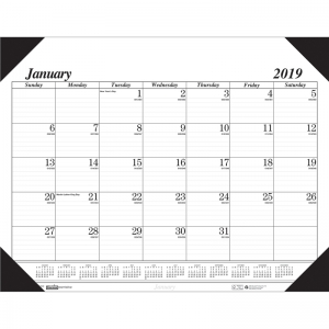 ECONOMY DESK PAD 12 MONTHS JAN -  DEC