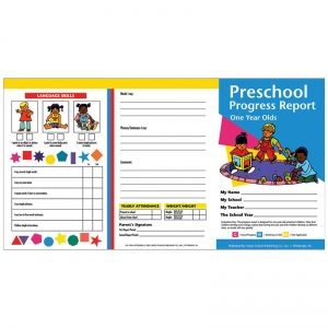 PRESCHOOL PROGRESS REPORTS 10PK FOR  1 YEAR OLDS